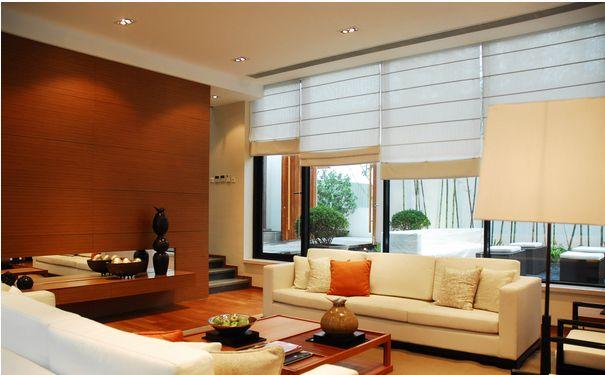 三种遮盖客厅房梁的办法
